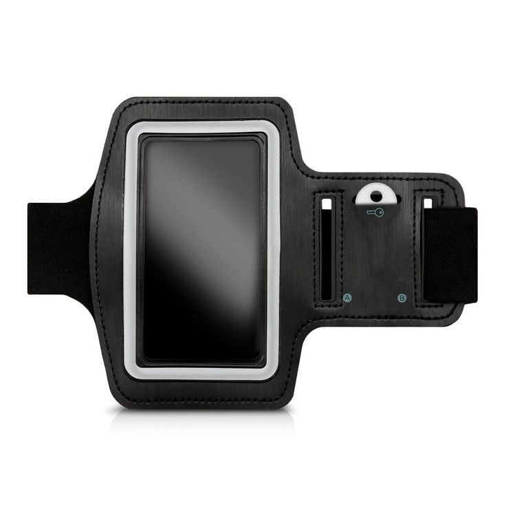 kwmobile sport armband for Smartphones jogging running sport bag fitness band with key compartment in the sport armband in black - e.g. compatible with Samsung, Apple, Wiko. TIME TO WORK OUT!: No more excuses! Thanks to the sports armband you can go jogging, walking, hiking or work out with your Smartphone. You can listen to music while exercising, see the track while running and much more. VARIABLE SIZE: the armband is designed for an arm circumference of up to 37cm and can be closed with…