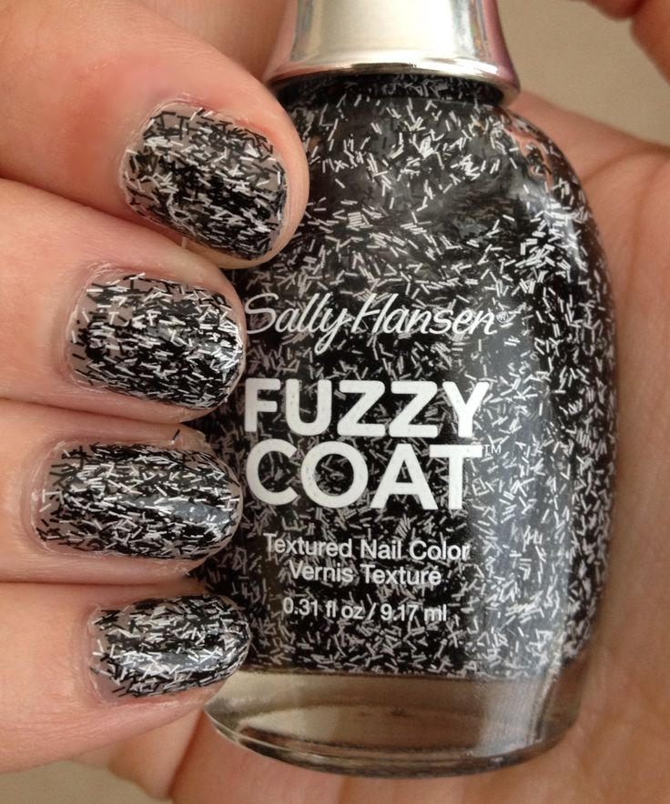 Nail Polish of the Moment: Sally Hansen Fuzzy Coat ...