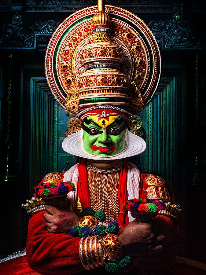 One of my favourite experiences in Kerala - the Kathakali Performance - we had…