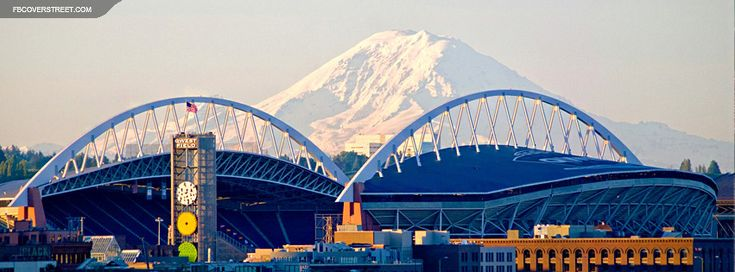 One of the most beautiful places in the states. CenturyLink Field Seattle Seahawks 2 Facebook Cover Wallpaper