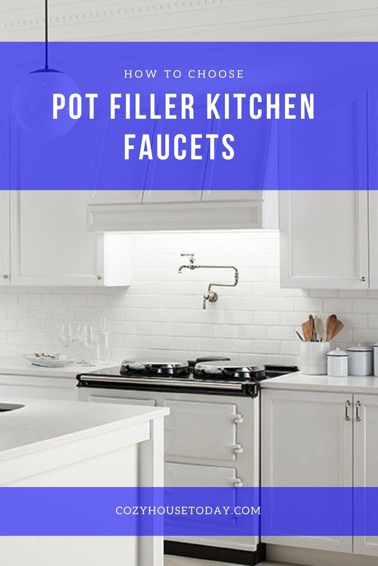 best 25 pot filler faucet ideas on pinterest pot filler tile filler and traditional pot fillers. Black Bedroom Furniture Sets. Home Design Ideas