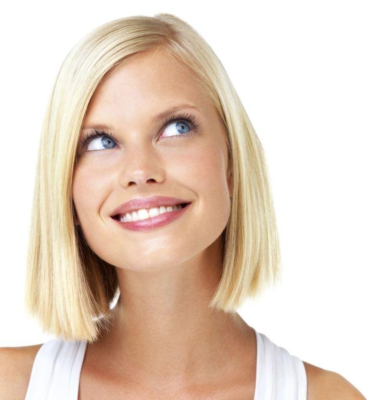 20 peinados de media melena para rubias peinados - Peinados de fiesta media melena ...