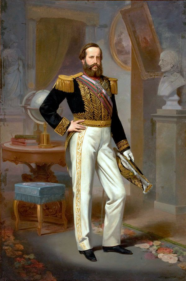 Dom Pedro II by Victor Meirelles (1864)