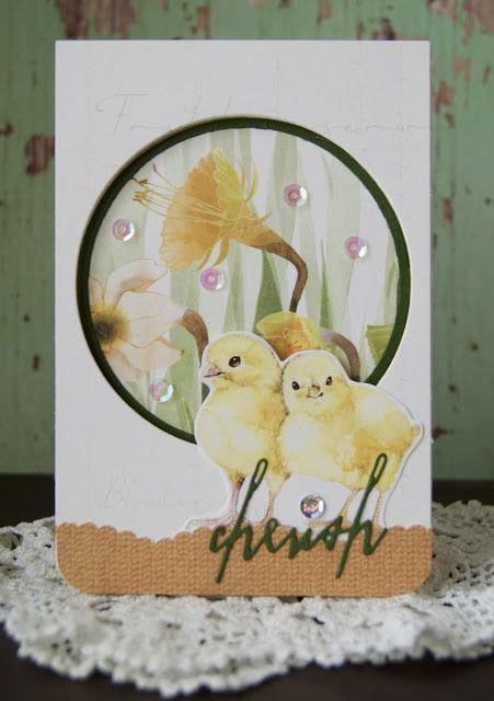 Synnøves Papirverksted: Easter greetings