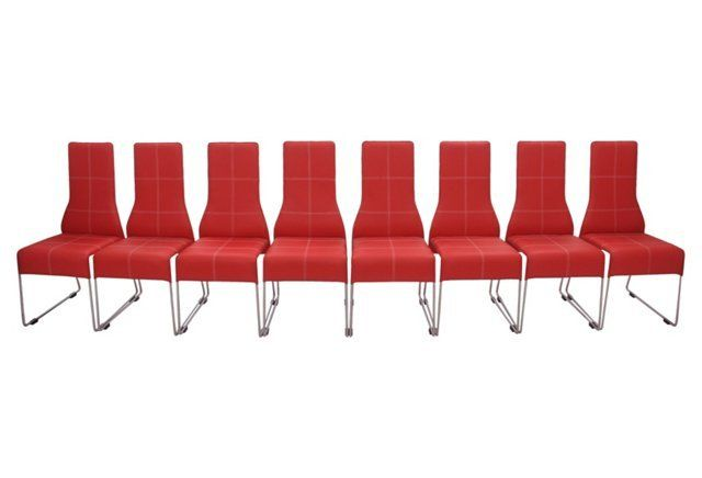 1000 Ideas About Red Leather Chair On Pinterest Leather