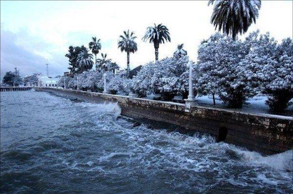 Абхазия зимой - Путешествуем вместе