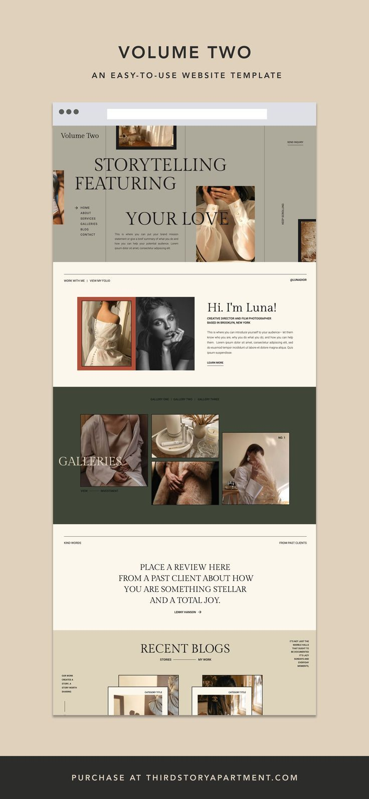 Website Template By Lindsey Eryn Of Third Story Apartment In 2020 Web Design Inspiration Creative Graphic Design Website Minimalist Web Design,Teenager Lehenga Blouse Designs Catalogue 2019