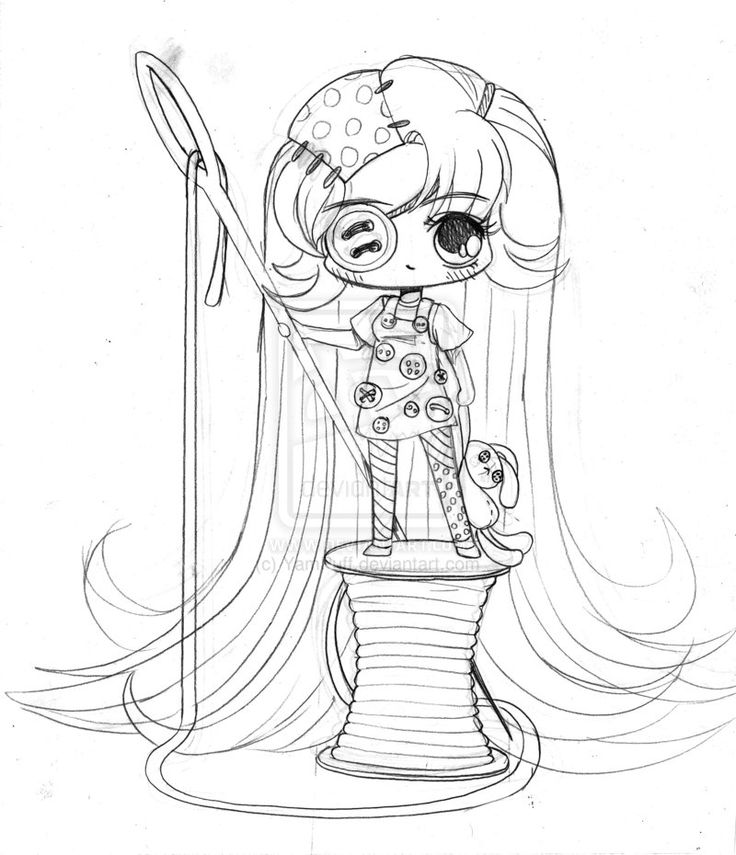 button chan by yampuff on deviantart magnoliachibi coloring pagesetampes yamsadult - Coloring Page Yam