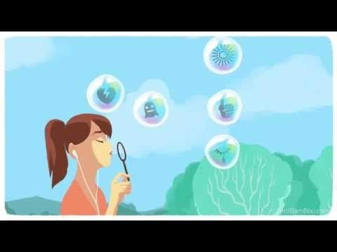 Techniques de Méditations de pleine conscience: les Bulles de savon - YouTube