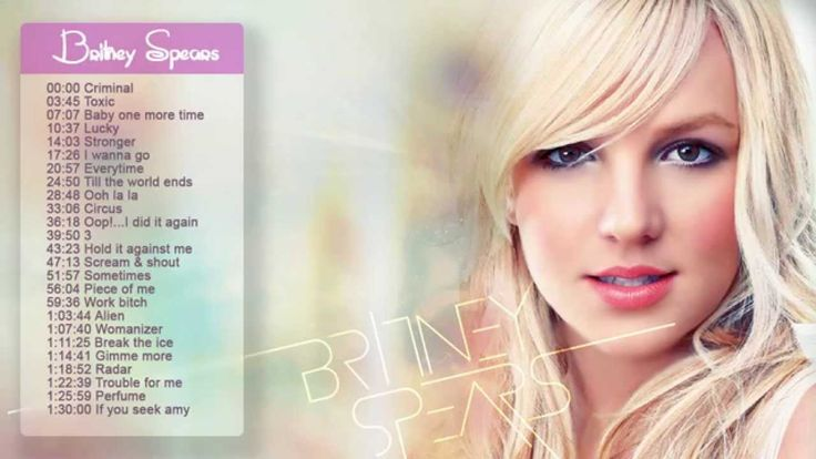 Britney Spears Greatest hits full album | Top 20 songs of Britney Spears