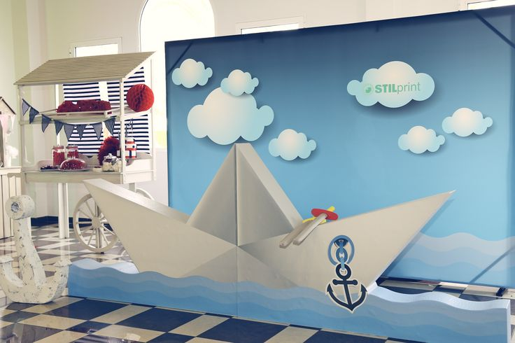 Tercer Open day Grupo REX- PHOTOCALL tematizado marinero - STILprint-