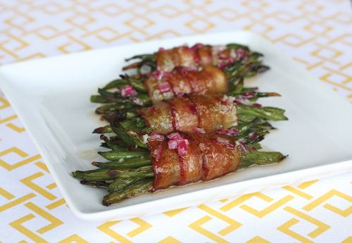 Bacon-Wrapped Green Bean Bundles from Our Best Bites! LDSLiving.com