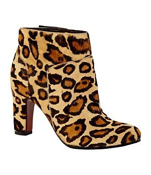 Sam Edelman Salina Leopard-Print Booties