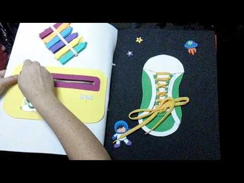 Realizo libros sensoriales envio a regiones