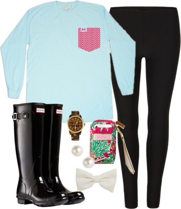 """Rainy"" by classically-preppy on Polyvore"