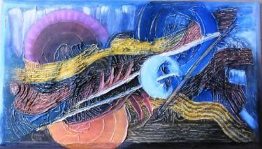 "Saatchi Art Artist Ildiko Decsei Csegoldi; Painting, ""Escape"" #art"