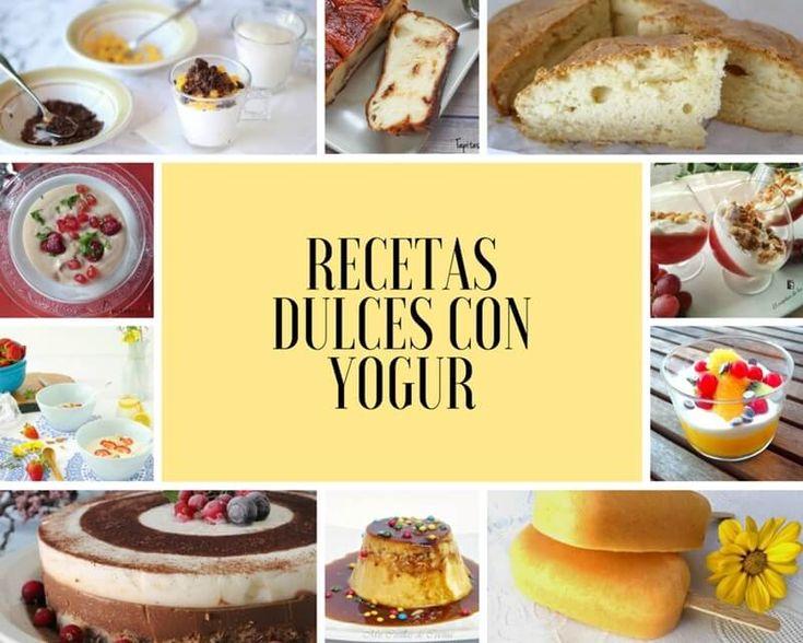 Recetas dulces con #yogur