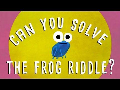 Can you solve the frog riddle? - Derek Abbott - YouTube