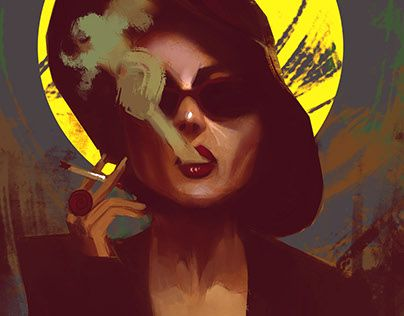 """Check out new work on my @Behance portfolio: """"Marla fight club """" http://be.net/gallery/34437615/Marla-fight-club-"""