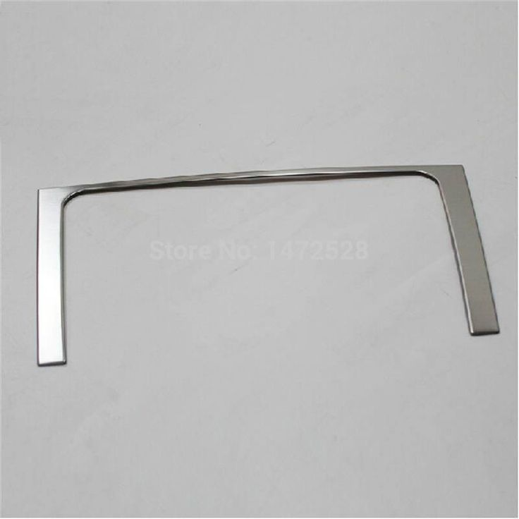 1 PCS DIY Car styling NEW Stainless steel In the control trim box For Volkswagen New Jetta A4 Bora parts accessories