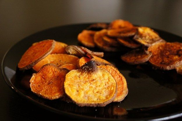 Sweet Potato Chips | 41 Healthy Things To Eat That Are Not Salad