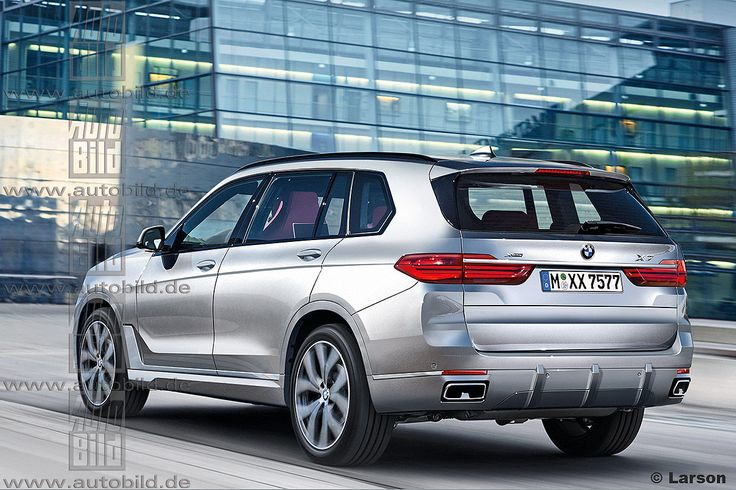 BMW X7 (render) 2018-2019