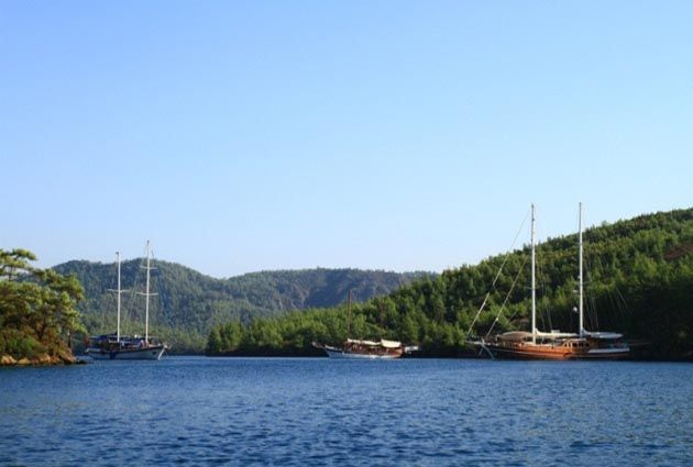 7.Day, Black Island, Poyraz Bay, Bodrum, private boat rental, www.barbarosyachting.com