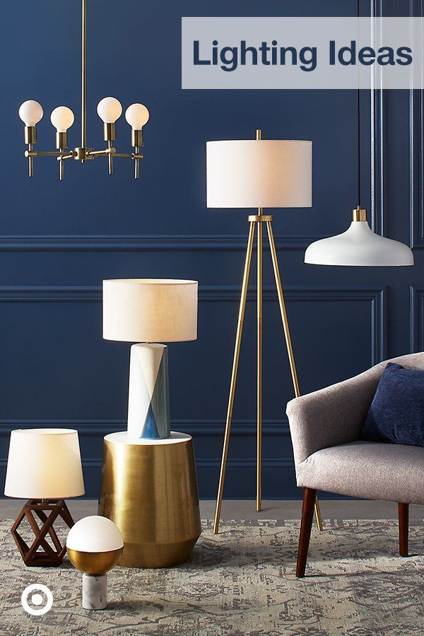 From Lamps To Chandeliers Find Lighting Fixture Ideas For A Well Lit Kitchen Dining Room Or Bedroom Brass Floor Lamp Tripod Floor Lamps Table Lamp Wood
