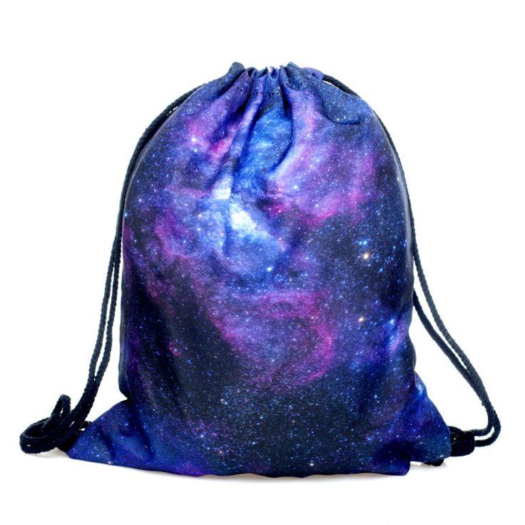 Nebula Draw String Bag £8 // Free UK Delivery  https://www.teeisland.co.uk/shop/nebula-draw-string-bag/