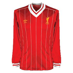 81-85 Liverpool Home L/S Shirt - Grade 8