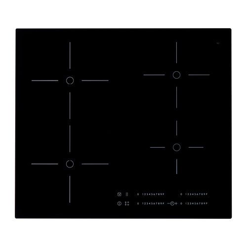 IKEA - SMAKLIG, Induction hob, 5 year guarantee. Read about the terms in the guarantee brochure.Induction hobs are extremely energy efficient, fast and precise as induction technology transfers energy directly into magnetic cookware.Gives you the flexibility to use larger and different pots for special recipes or occasions as the bridge function allows you to connect 2 cooking zones into 1 large one when needed.The power booster feature (P) delivers additional power to a single cooking zone…