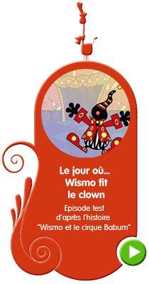 Ce site propose des dessins animés et des histoires interactives contant les aventures de Wismo le lutin.
