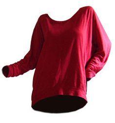 Oversize Shirt    Oversize Pullover selber nähenOversize Pullover mit Fledermausärmel