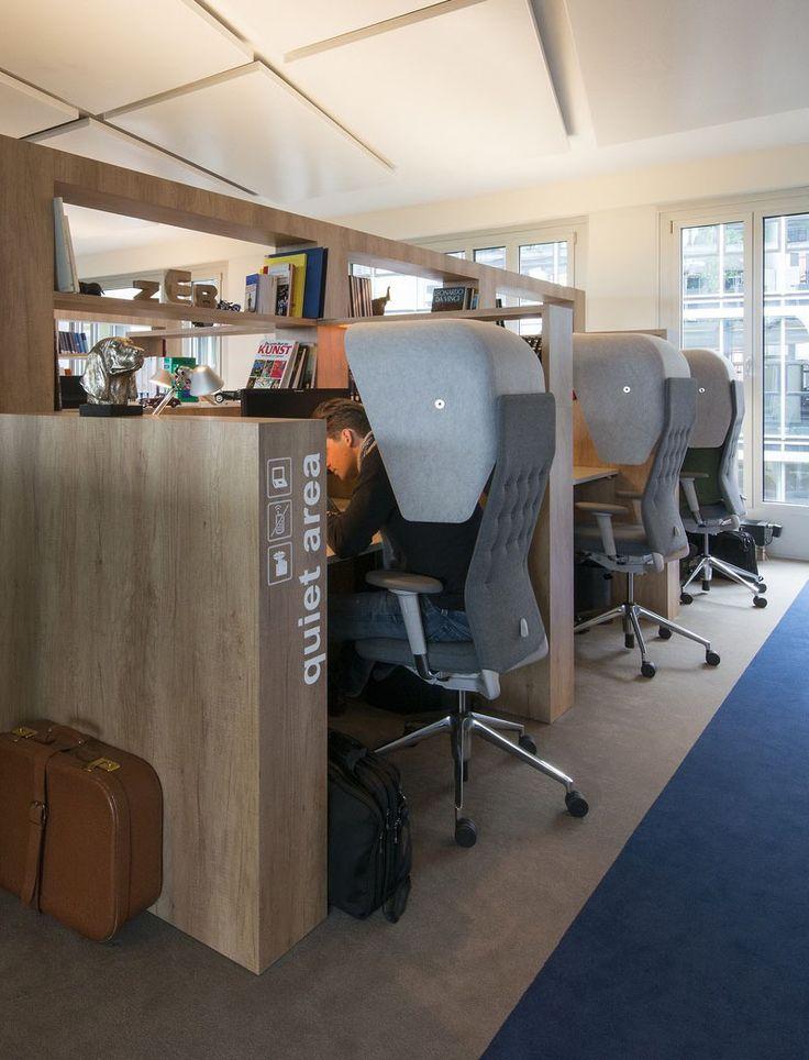 Office design idea create a designated quiet area for Bbdo office design 9