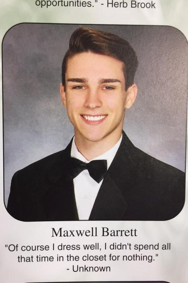 Teen's Hilarious Senior Quote Puts New Spin On Coming Out Of The Closet