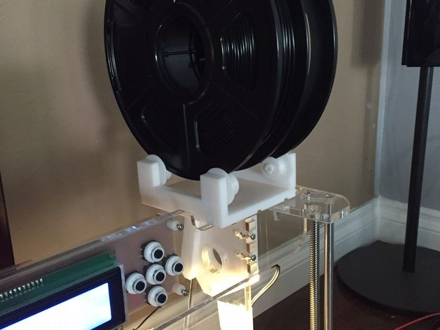 spool holder overhead for anet a8 prusa omni m505 by Simhopp - Thingiverse