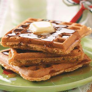 Whole-Grain Waffle Mix Recipe-breakfast for dinner last night. Instead ...