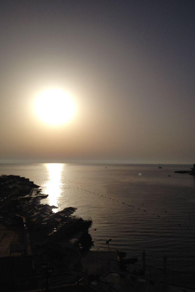 Sunset at Xlendi Bay