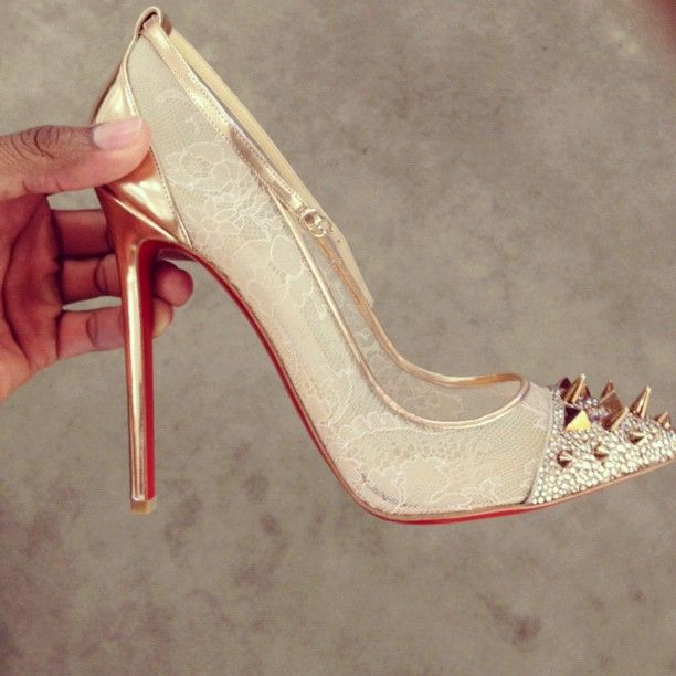 gold louboutins uk cl shoes 7 cm ovarian