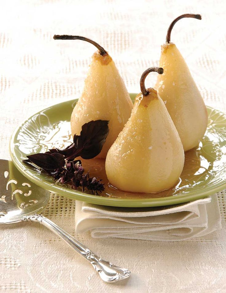 ... Varieties: Poached Pears in Basil SyrupFood Pears, Perfect Pears