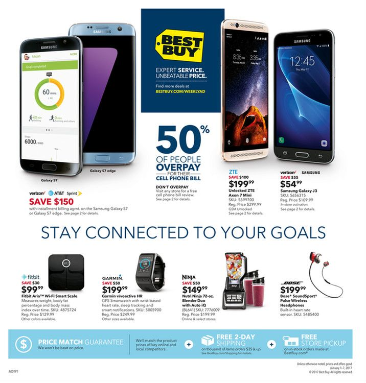 Best Buy Weekly Ad January 1 - 7, 2017 - http://www.olcatalog.com/electronics/best-buy-weekly-ad.html