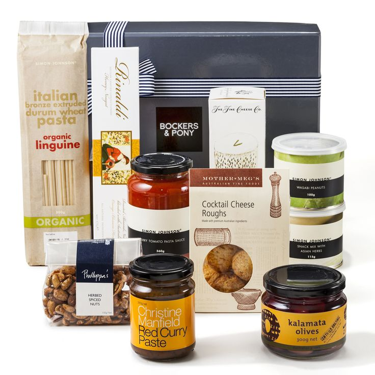 Simon Johnson And Friends | Gourmet Hampers - Bockers and Pony We have combined some of our favourite Simon Johnson goodies with other super great gourmet products. This is a seriously great gift hamper for lovers of fine food.