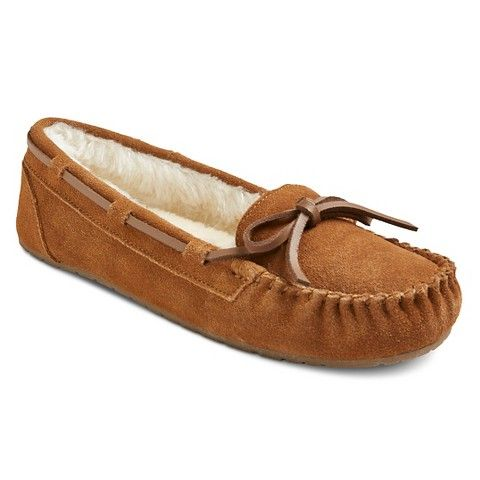 for Audrey. size 10. Women's Chaia Moccasin Slippers - Chestnut