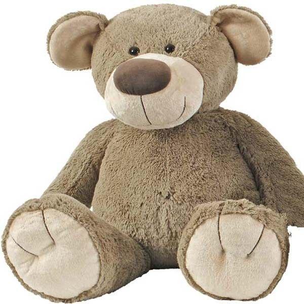 L'ours Bello de 100 cm de la marque Happy Horse permet de satisfaire les désirs de tous, du cadeau de naissance au coup de coeur, il décorera la chambre des plus petits et séduira les plus grands (peluche géante 1ère sur la photo des 5 ours en peluche).
