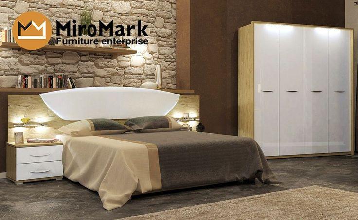 Спальня Миллениум набор, красивые спальни в Киеве, каталог мебели по ценам производителя