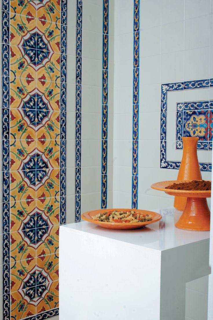 Плитка Doremail коллекции Майолика Средиземноморья придаст любому помещению особый, восточный стиль.