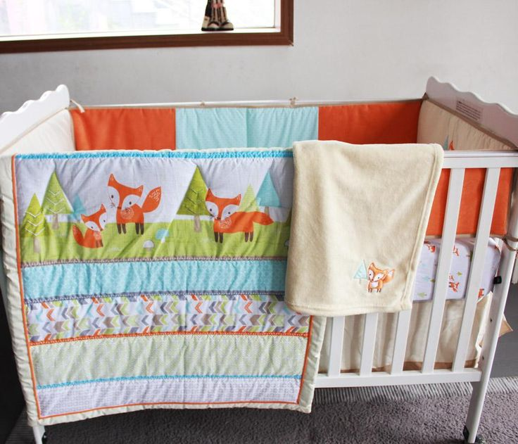 Cheapest Place To Buy Baby Furniture #30: Cheap Childrens Twin Bedding Sets Girl Bedding Sets Full And Kids Queen Bedding Sets For Boys On Embroidery Prairie Fox Baby Bedding Set Cotton Baby Crib ...