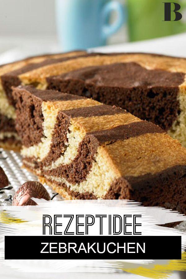 Zebrakuchen Rezept In 2020 Zebrakuchen Kuchen Gesunde Kuchen Rezepte