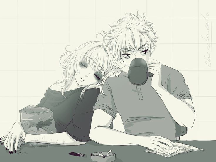 30DaysOTPChallenge - During their morning rituals by Choco-menta