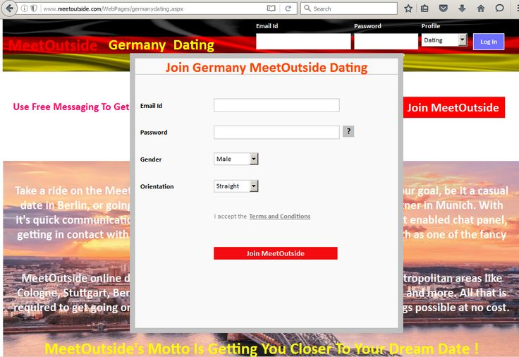 Casual dating germany